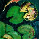 Koi Pond by Tipptoggy
