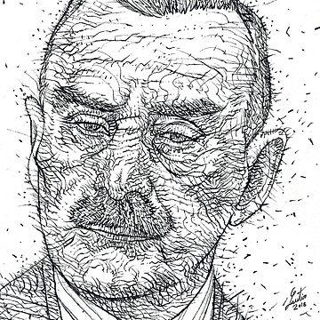 THOMAS MANN - ink portrait by lautir