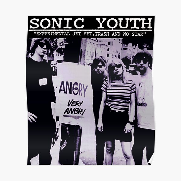 Sonic Youth New Poster