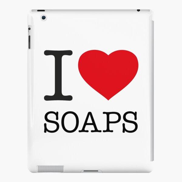 I LOVE SOAPS iPad Snap Case