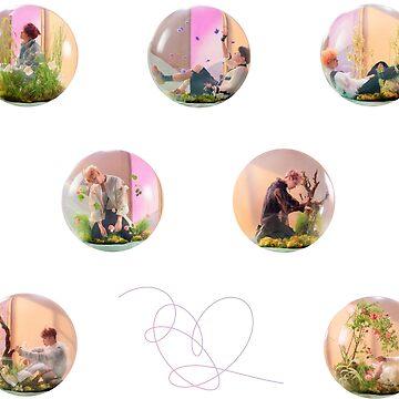 BTS ANSWER BUBBLES by lyshoseok