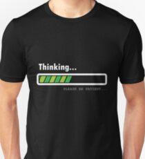 T-Shirt Fortschrittsbalken Slim Fit T-Shirt