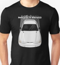 Mustang GT 1994 to 1998 SN95 - White Unisex T-Shirt