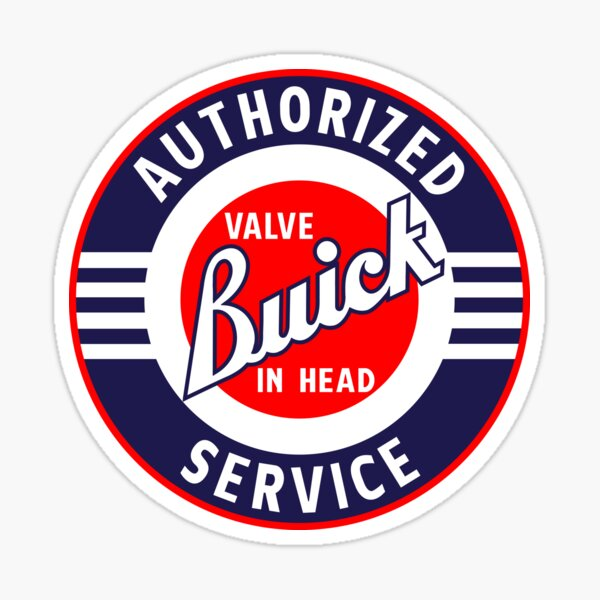 Buick Authorized Service Sticker