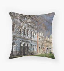 Streetscape of Fremantle Throw Pillow