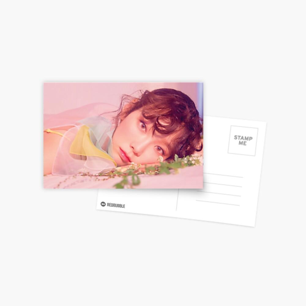 K-Pop Fanart Taeyeon Make me Love YouMy Voice Postcard Girls/' Generation SNSD Fine Deluxe Version