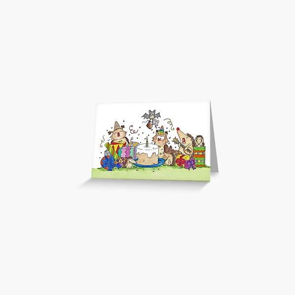 Happy Birthday Grußkarte von Nicole Janes Grußkarte