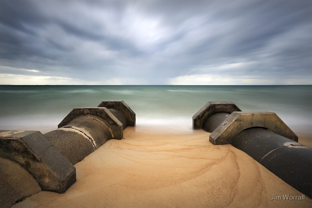 The Pipes - Safety Beach by Jim Worrall