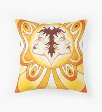Gemini - Flutter high, flutter bright! Throw Pillow
