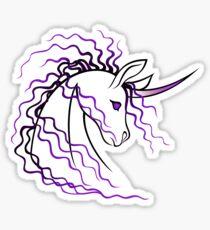 Ki-Rin (Japanese Unicorn) - Purple Sticker