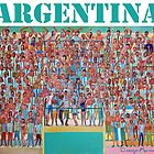Great Argentine Football Tribune by Diego Manuel Rodriguez
