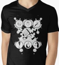 Adventure Time Characters Men's V-Neck T-Shirt
