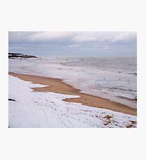 Winter In Montauk Photographic Print