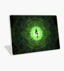 Green Tara Mantra- Protection from dangers and suffering. Laptop Skin