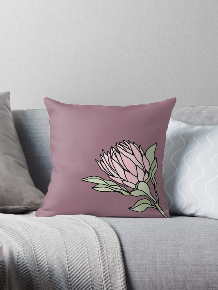 Amazing Flowers Of South Africa Throw Pillow By Kim Kyle Onthecornerstone Fun Painted Chair Ideas Images Onthecornerstoneorg