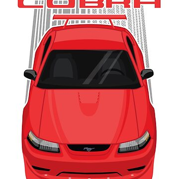 Mustang Cobra R 2000 - Red by V8social