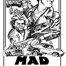 Mad Max Movie Poster by OscarEA