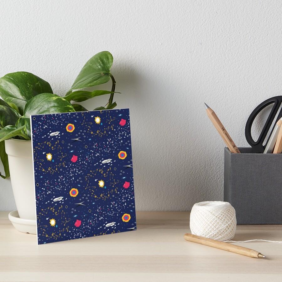 The Way to Earth Art Board Print