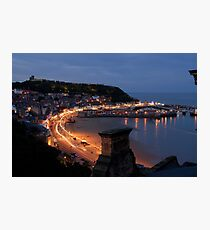 scarborough by night Photographic Print