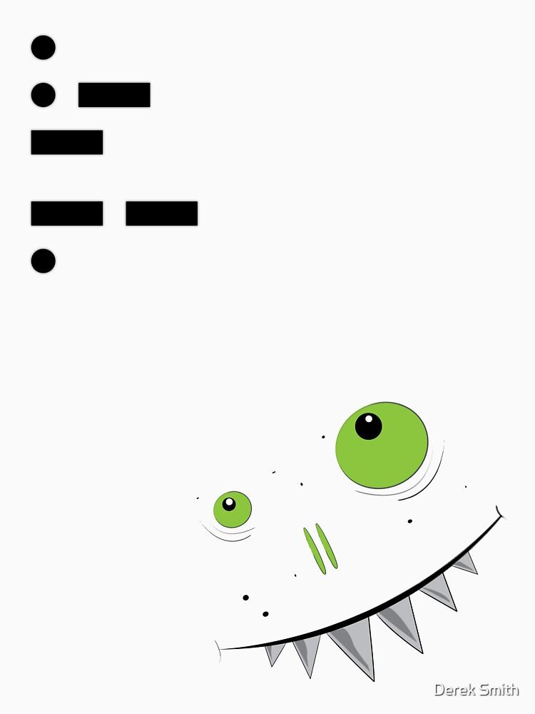 Morse T (Eat Me) by derekkered