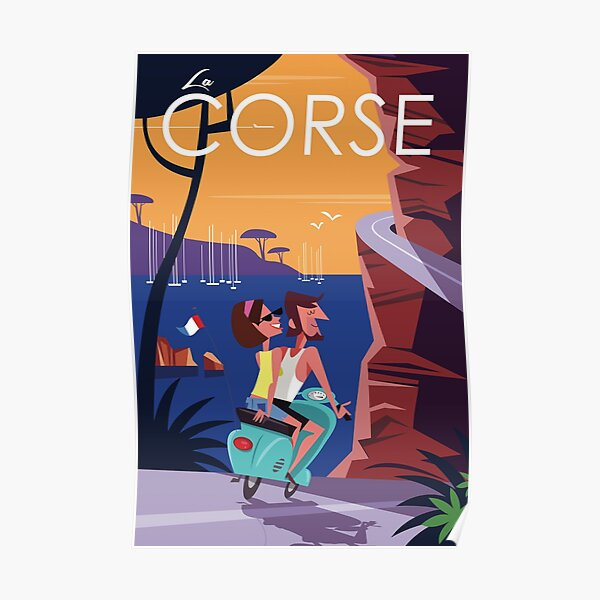 Affiche de voyage Corse Poster