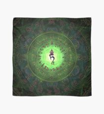 Green Tara Mantra- Protection from dangers and suffering. Scarf