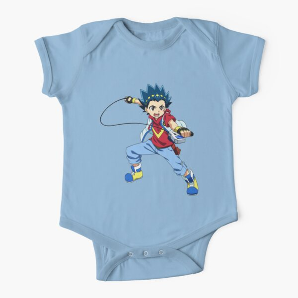 VALT from BEYBLADE BUST! [TV show] Short Sleeve Baby One-Piece