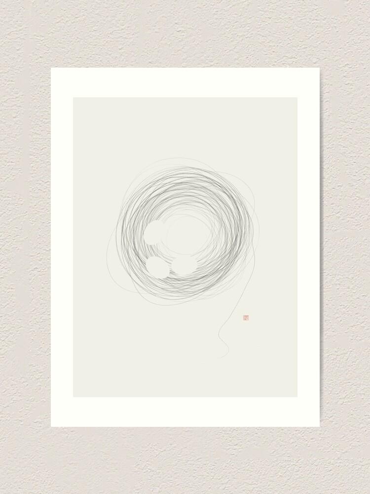 Alternate view of Home (West Meets East Series) Art Print