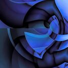Blue Style by CurvilinearArt