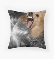 Dont Bite Me Throw Pillow