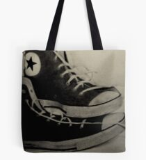 Conversion of lines Tote Bag