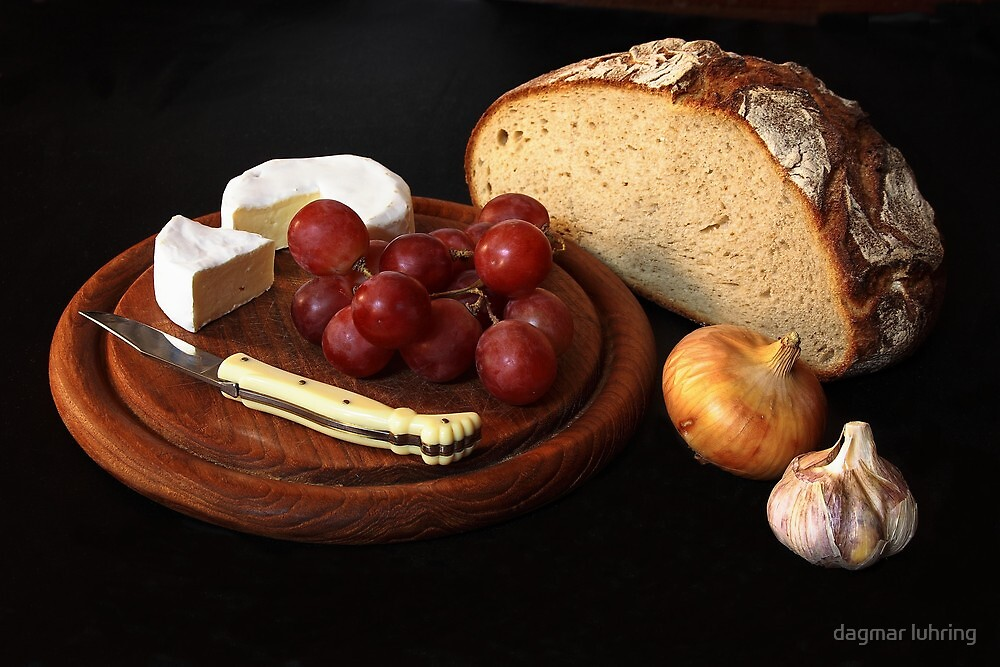 bread and cheese by dagmar luhring
