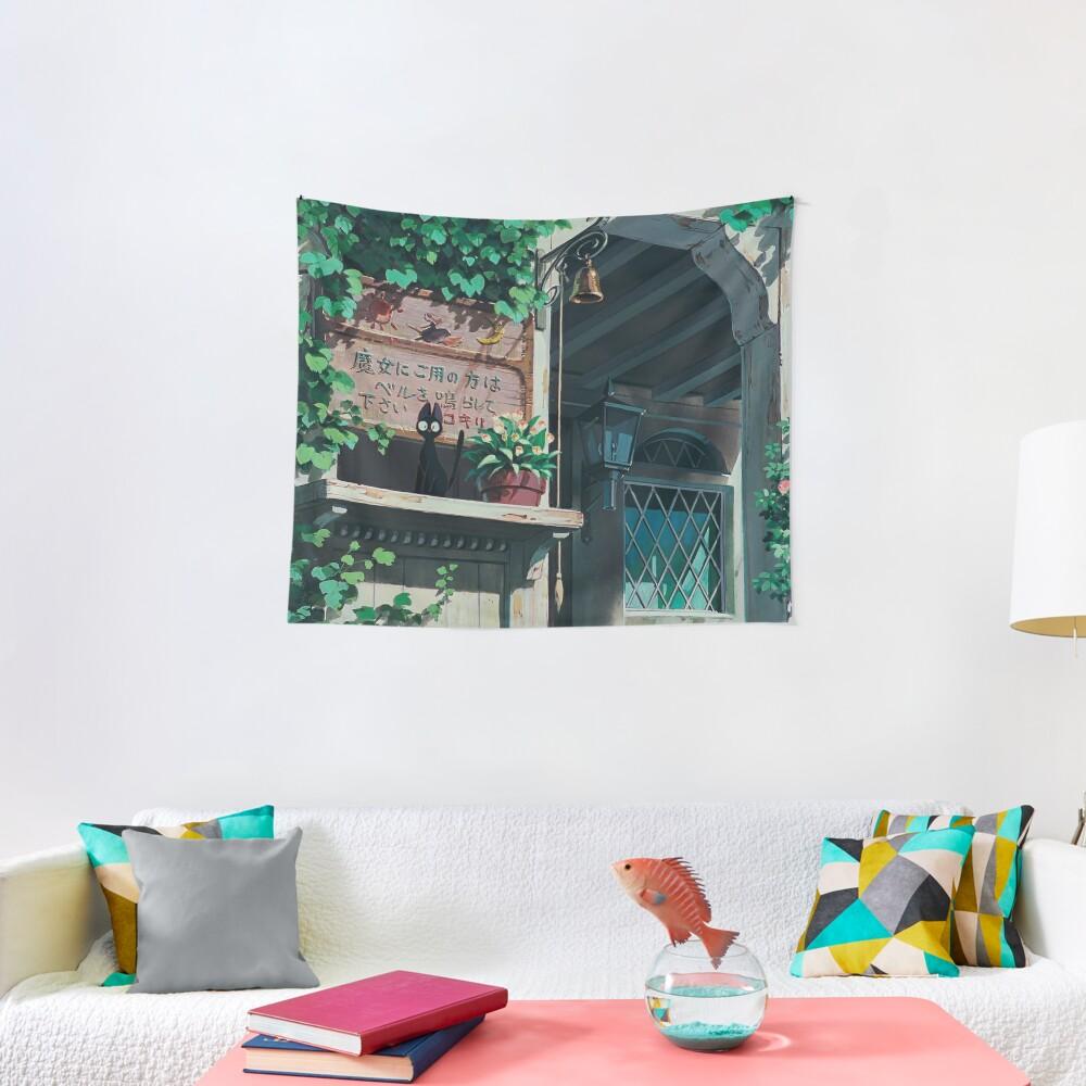 Studio Ghibli Landscape Tapestry