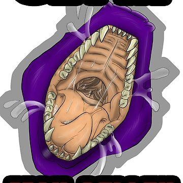 Get In Mah Belleh Purple by Gothyk