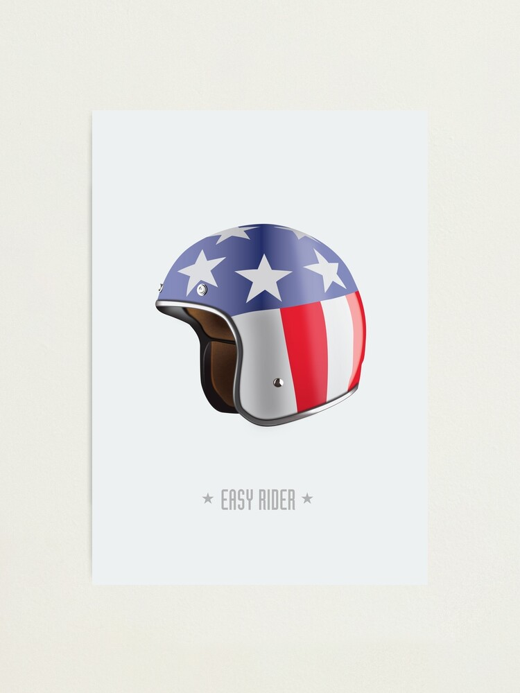 Alternate view of Easy Rider - Alternative Movie Poster Photographic Print