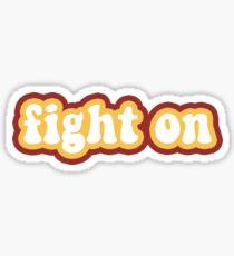 Fight On - USC Sticker