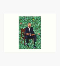 Obama Official Portrait Art Print