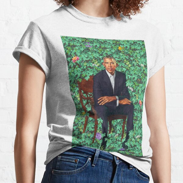 Obama Official Portrait Classic T-Shirt