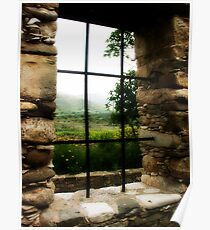 Window with a view.. Poster