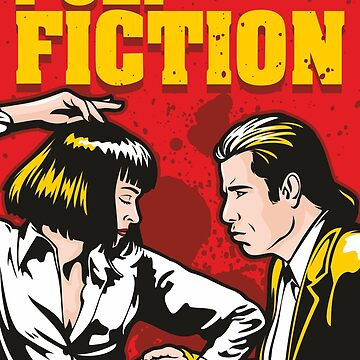 Pulp Fiction by jamieleeart