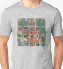 Roller Coaster Tycoon Icons Slim Fit T-Shirt