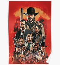 Affiche d'art de Red Dead Poster