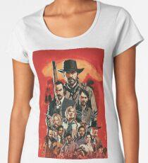 Red Dead Poster Fan Art Women's Premium T-Shirt