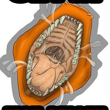Get In Mah Belleh Orange by Gothyk