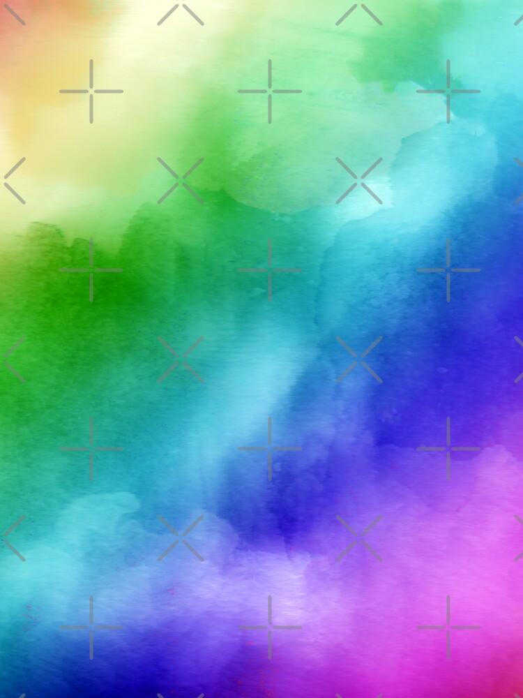 Rainbow Watercolors by FrankieCat