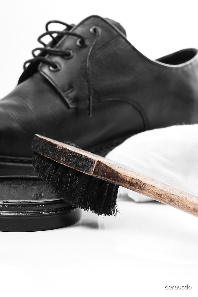 shoe polish by derausdo