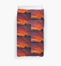 March Sunset Duvet Cover