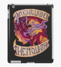 I am King Under the Mountain iPad Case/Skin