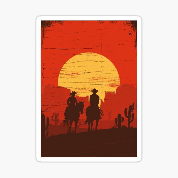 Cowboys of the Wild West - Journey Sticker