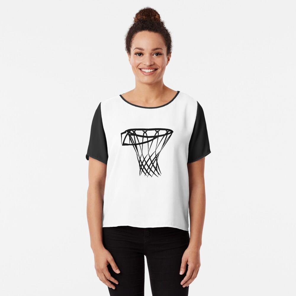 Basketball basketball hoop Chiffon Top